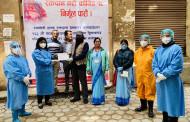 सामाजिक दुरी कायम गरी महामारी रक्तदान कार्यक्रम सम्पन्न(फोटोसहित)